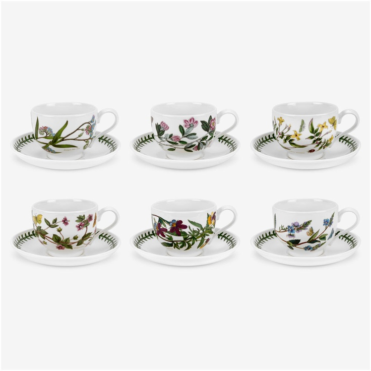 Portmerion Botanic Garden Teacups