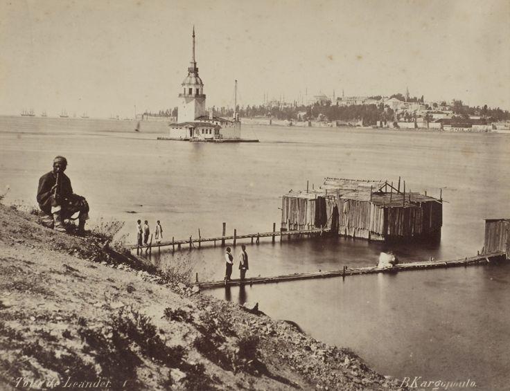Kızkulesi ve Salacak Sahili Basile Kargopoulo, 1870