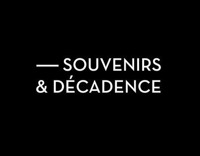 """Check out new work on my @Behance portfolio: """"Souvenir & Décadence"""" http://on.be.net/1zjbpdY"""