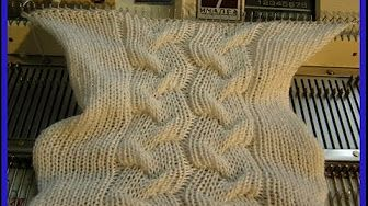 Easy Cable Join for Machine Knitting by Diana Sullivan - YouTube