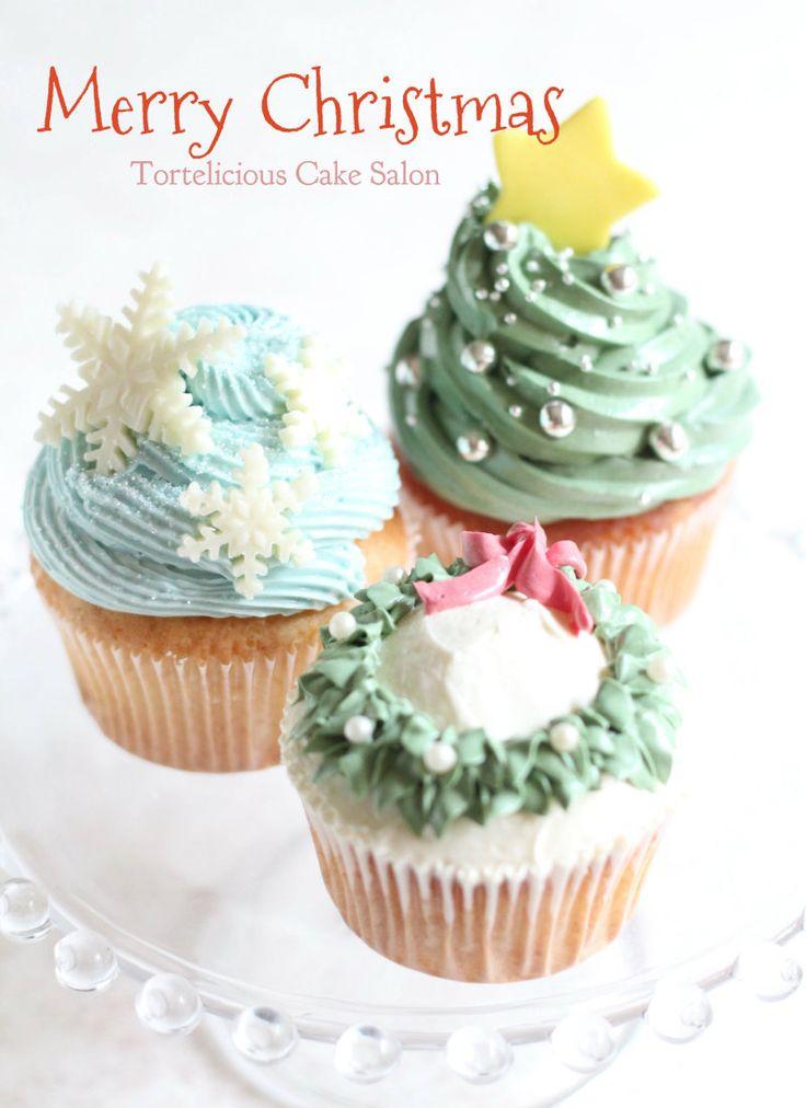 クリスマスカップケーキレッスン!|Tortelicious 横浜元町のお菓子教室 トルテリシャス