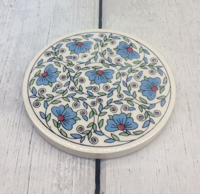 TURKISH CERAMIC COASTER, 0029