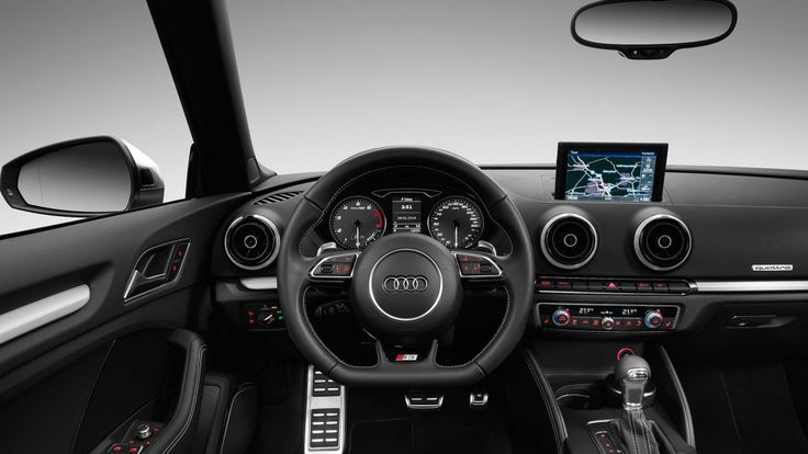 2015 Audi S3 Cabriolet dashboard 2015 Audi S3 Cabriolet Include TurboCharger 2.0 TFSI