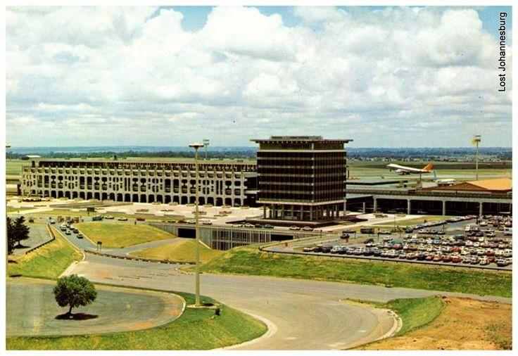 Jan Smuts Airport 1970's