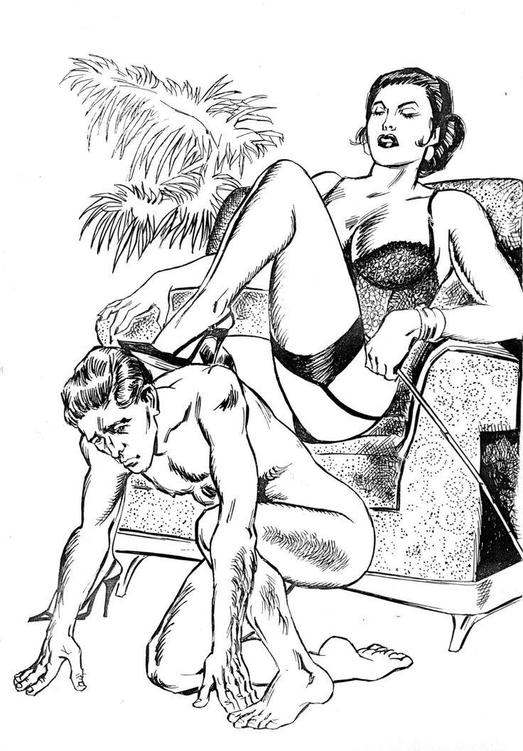 Older illustrated femdom erotica stories