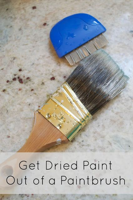 how to get paint out of carpet dried