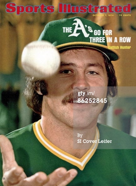 October 7 1974 Sports Illustrated Cover Baseball Closeup… News Photo ...