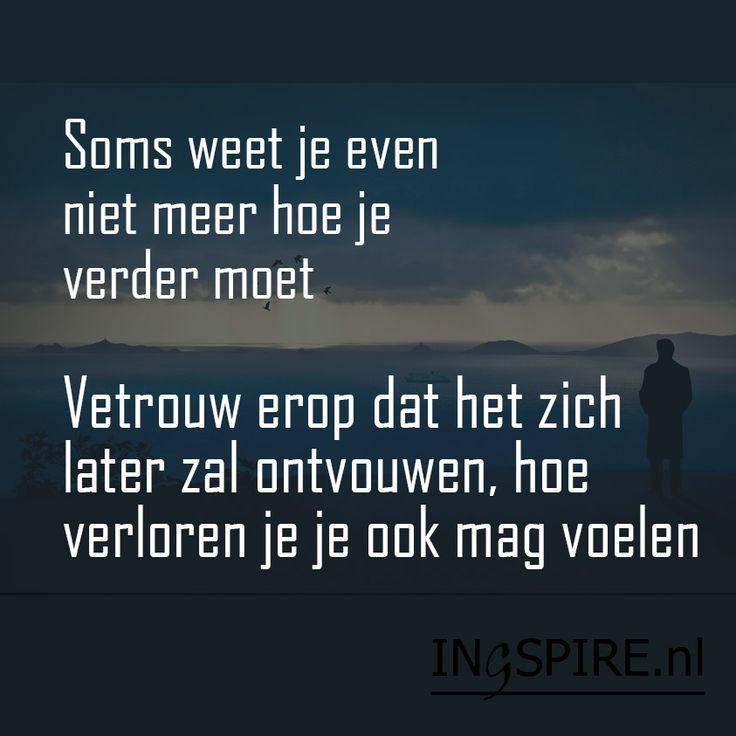 Copyright © citaat Ingspire.nl – bekijk alle citaten van inge Een onbestemd gevoel Ondanks al je inspanningen in het zoeken naar antwoorden en oplossingen, kan het zijn dat je niet weet hoe je verder moet. We zijn geneigd snel iets op te lossen of actie te ondernemen. Maar dit is niet altijd mogelijk. Je wordt dan …