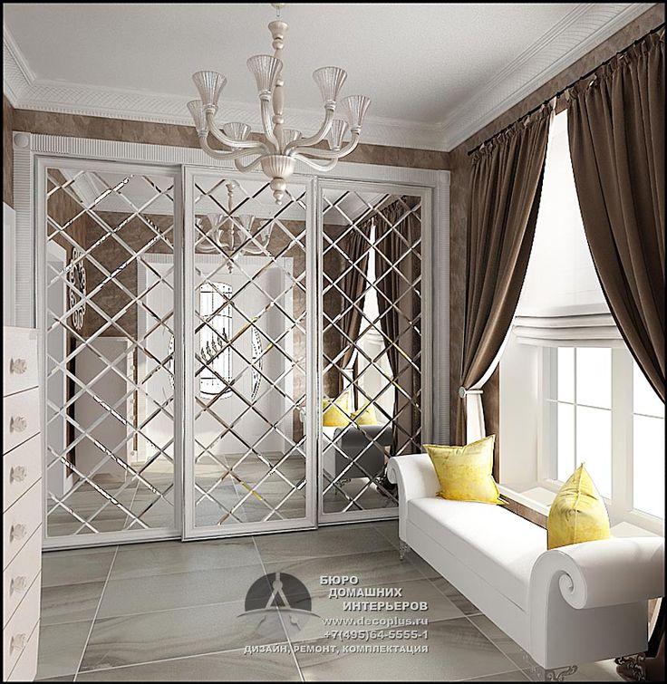 Дизайн прихожей в стиле арт-деко http://www.decoplus.ru/dizayn-prihozhey-art-deco
