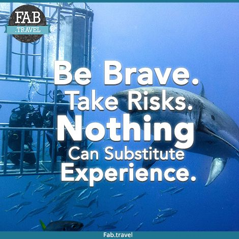 #TravelFabulously  Be brave & Experience the #Thrill adventure and Dive in the #BahamasCageDiving with #TigerShark