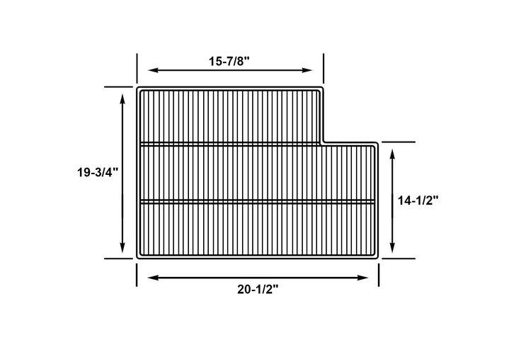 Beverage Air 403-298d Metal Refrigerator Wire Shelf