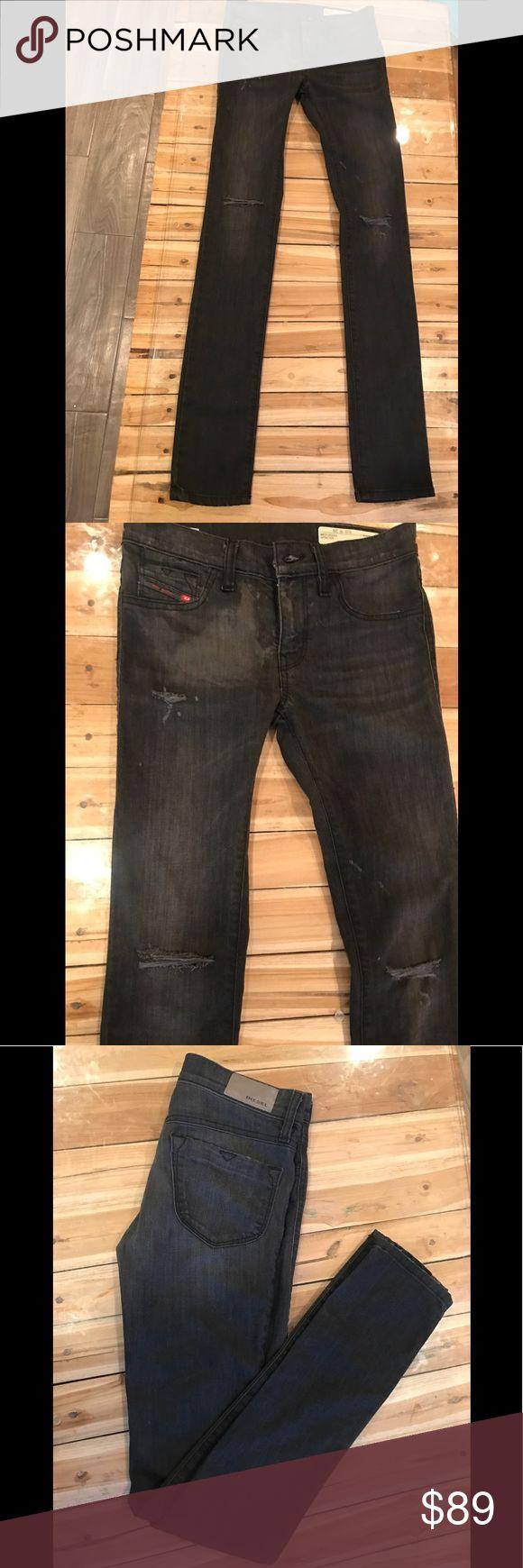 DIESEL Livier low waist super slim jegging size 26 NWT Diesel Pants Skinny