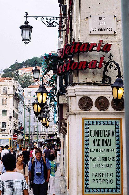 Confeitaria Nacional - Lisboa , Portugal.