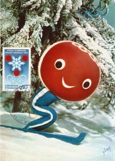 SCHUSS - Mascot for 1968 Winter Olympics in Grenoble