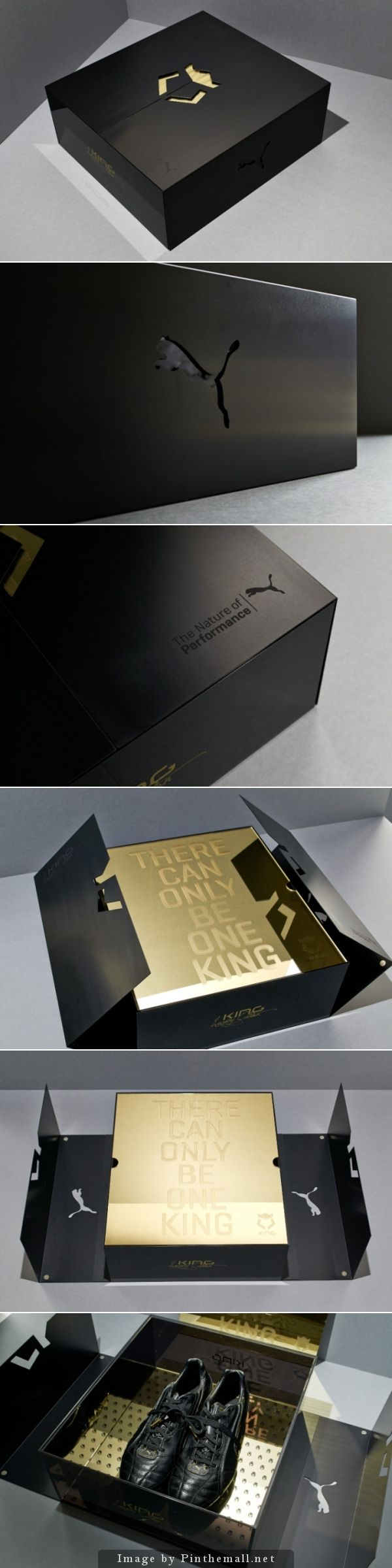 Limited Edition packaging for Puma. There can be only one king.