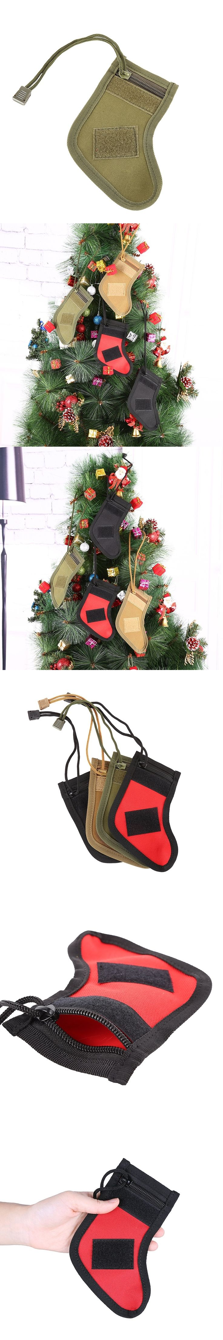 MOLLE Straps Tactical Stocking Dump Drop Pouch Military Hunting Magazine Pouches Christmas Storage Bag Newest