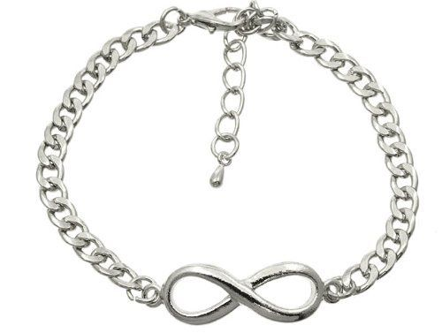 Bracelet bracelet link metal chain Silver Fashion Jewelry Costume Jewelry fashion accessory Beautiful Charms Beautiful Charms JENNIFER fashion jewelry. $7.14. infinity , Bracelet bracelet link metal chain Silver. Bracelet bracelet link metal chain Silver. Fashion Jewelry, Bracelet bracelet link metal chain Silver. Save 38%!