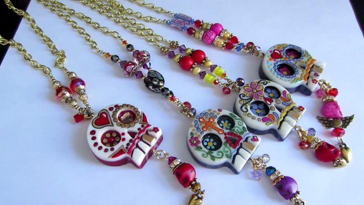 Necklaces: Sugar Skull ☆ Handicraft Ideas
