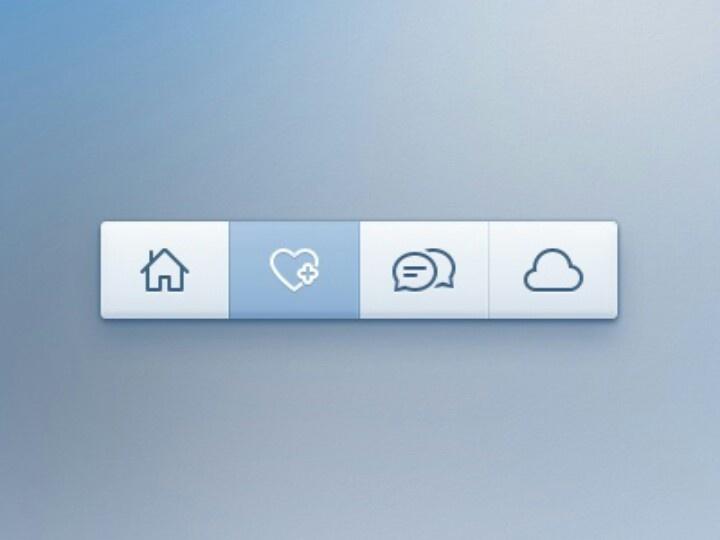 Soft #web #toolbar design 83oranges.com