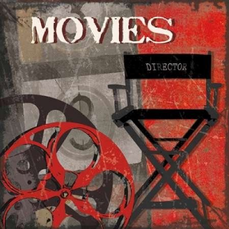 Movie Time Canvas Art - Sandra Smith (24 x 24)