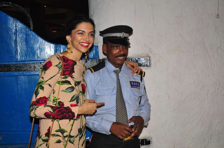 awesome Deepika Padukone at Tamasha film success party
