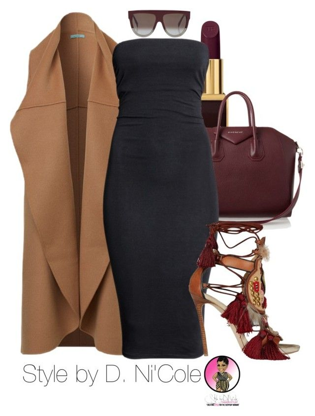 Untitled #2528 by stylebydnicole on Polyvore featuring polyvore fashion style H&M Dsquared2 Givenchy CÉLINE Tom Ford