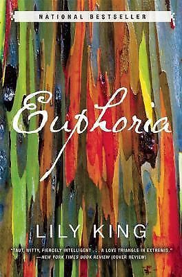 Euphoria by Lily King (2014, Hardcover)  - like new condition