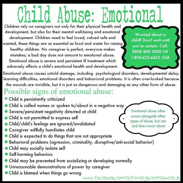 Signs of narcissism in child