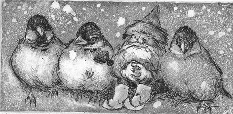 Christmas card by Maija Karman