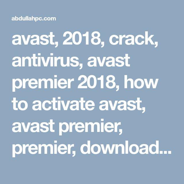 скачать антивирус аваст взломанный