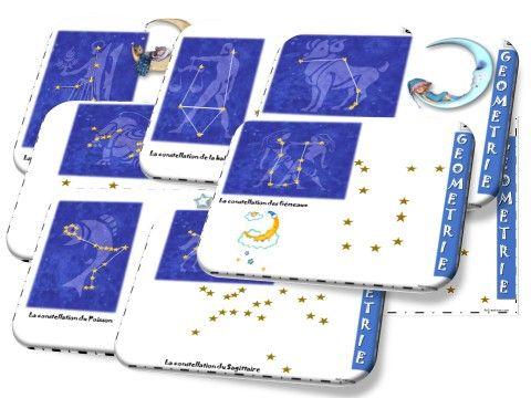 redessiner les constellations (règle) étoiles espace