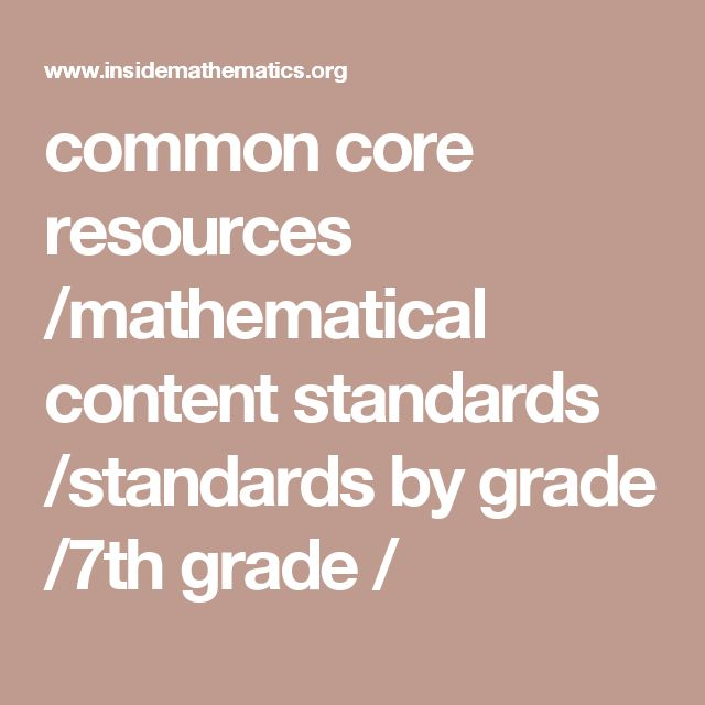 common core resources /mathematical content standards /standards by grade /7th grade /