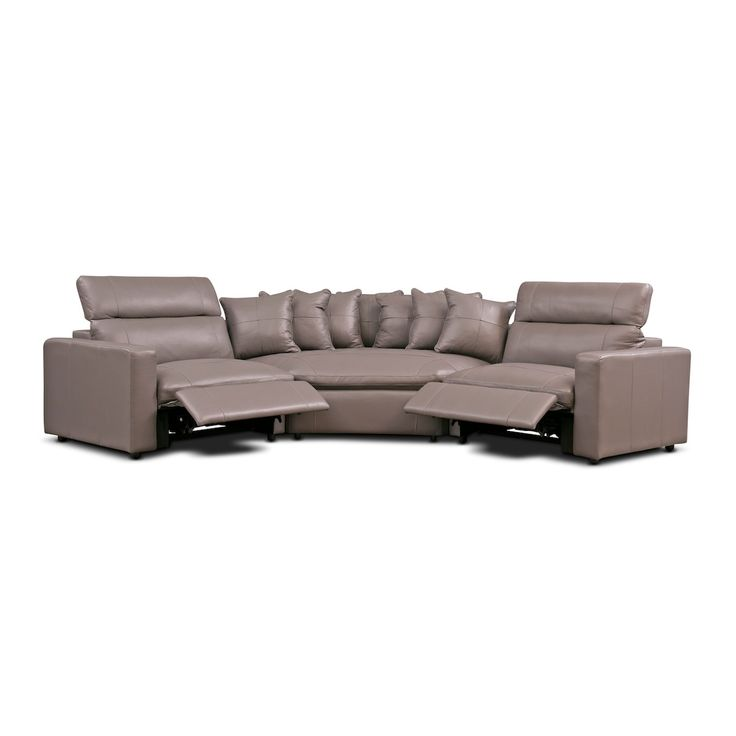 Best Happy 3 Piece Dual Power Reclining Sectional With Cuddler 400 x 300