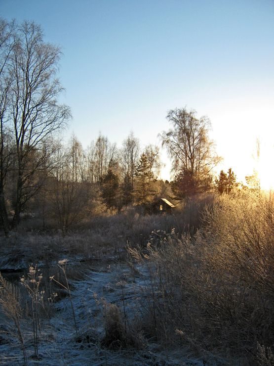 Winter scenery in Finland - Lumiloska.blogspot.fi