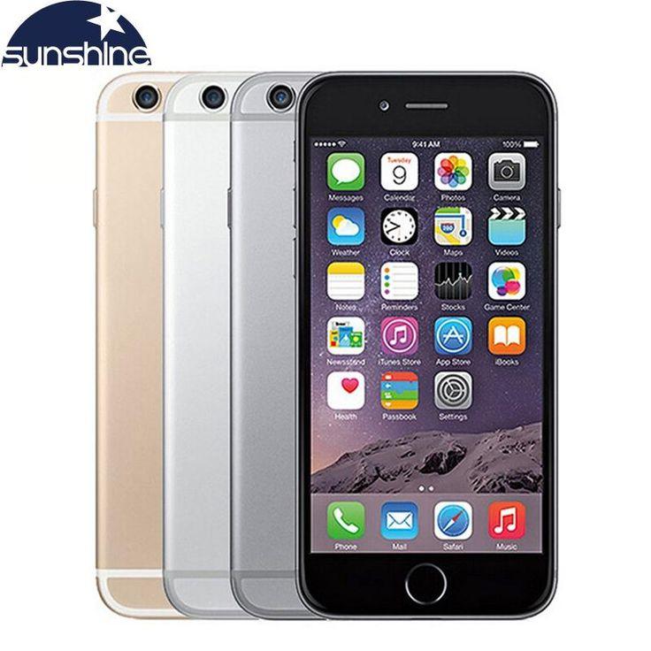 Original Apple iPhone 6 LTE Unlocked Mobile phone 1GB RAM 16/64/128GB iOS 4.7' 8.0MP - Used Phone