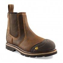 Buckler B1990SM Safety Dealer Boots Dark Brown