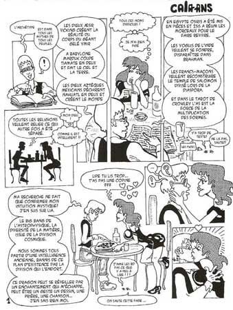 comic art by Flavio Calazans