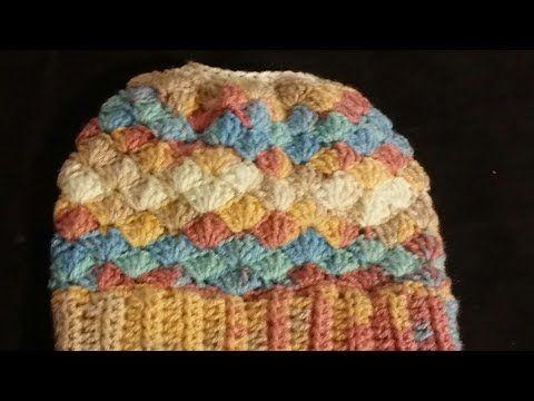 Easy to Crochet Messi Bun Hat /TheCrochetWorld - YouTube
