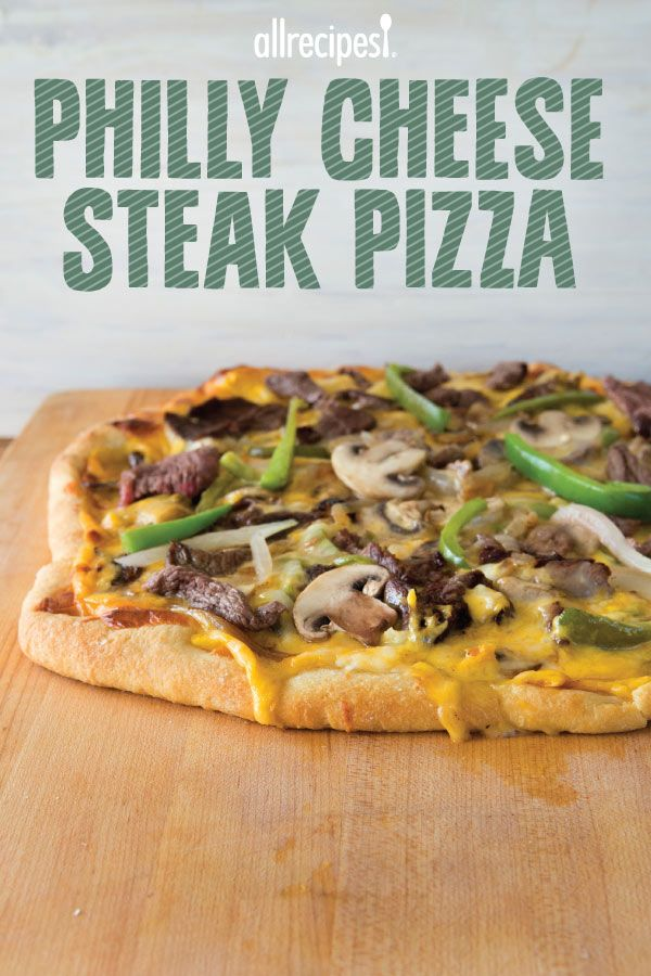 "Easy Philly Cheese Steak Pizza | ""A very tasty twist to pizza!"""