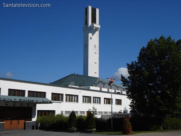Церковь Лакеуден Ристи разработана Альваром Аальто в Аальтокескус s в Сейнайоки в Финляндии