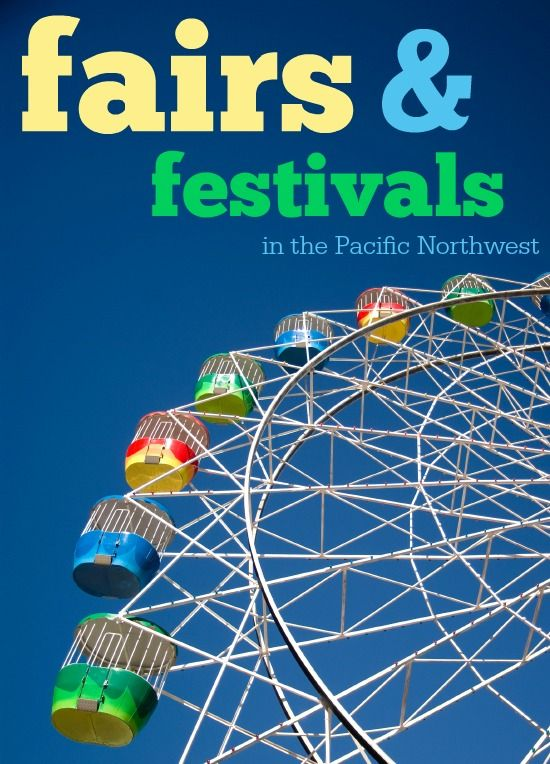 Pacific Northwest Summer Fairs & Festivals -- A comprehensive list of outdoor events in Oregon & Washington