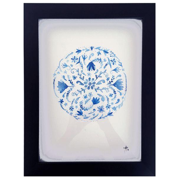 Flores - Watercolor #Art3Mas