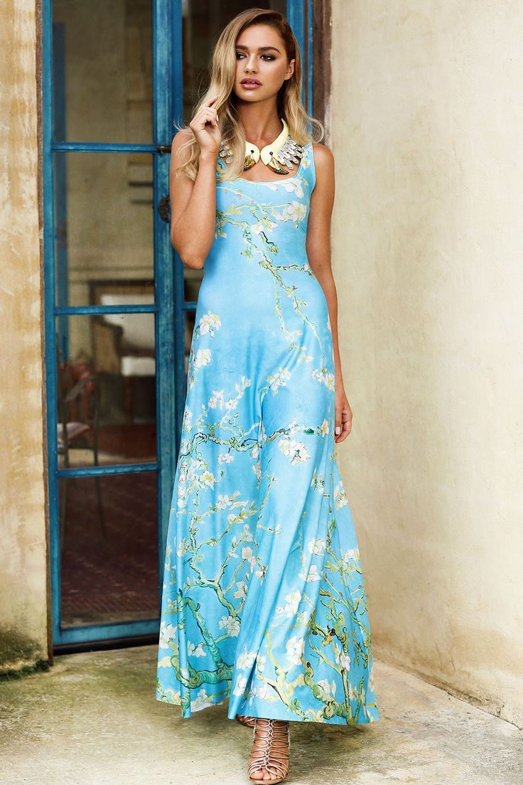 Almond Blossom Maxi Dress Limited Au 140aud By Black
