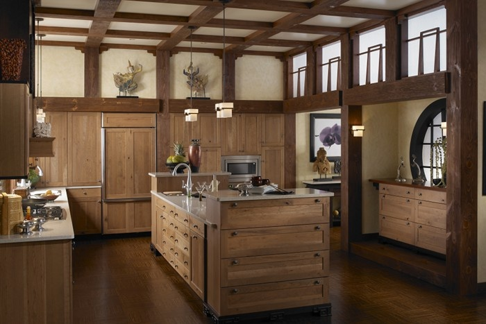 Wood mode cabinets designer kitchen collection for Bentwood kitchen cabinets