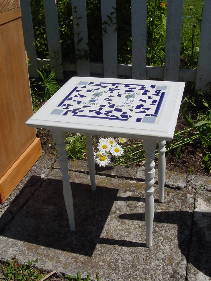 Small Table Made From Cabinet Door My Personal Projects