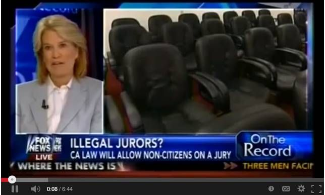 New California Law Would Allow Non U.S. Citizens On Juries!-what does being an American mean? They get drivers license,ObamaCare,,welfare,and now they can serve on juries. THESE ARE RIGHTS' OF AMERICANS