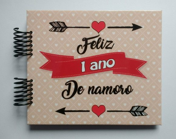 Album Scrapbook Aniversario De Namoro 1 2 3 4 Anos