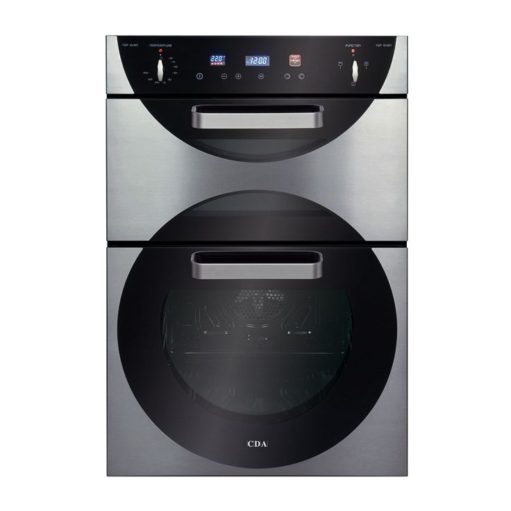 9Q6SS   Built In Electric Designer Double Oven   CDA Appliances   Built For  Your