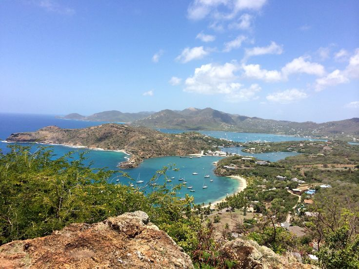There are views and there are views. Shirley Heights, Antigua