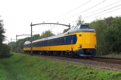 Dutch train, one of my son's first words.  Trein NS, 'trein' was een van de 1e woordjes van mijn zoon.